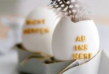 DIY: Easter / It's all about do it yourself easter decoration stuff.