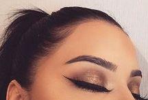 just eyes & brows