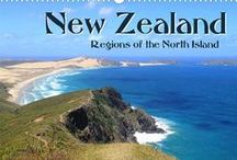 """New Zealand North Island / Travel Calendar """"New Zealand – Regions of the North Island"""": take a wander through the country of the Kiwi and Maori"""