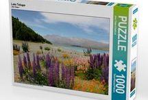 Meine Puzzle / 1000 Teile-Puzzle (64x48 cm) im  Stülpdeckelkarton, hochwertiger Druck, Motiv als Legemuster