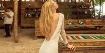 Island Tribe - Boho Bridal Gowns / Ocean inspired Wedding Gowns for the Free Spirited. Beach Boho, LuxeBoho. Shop Online and Select Stores www.islandtribeusa.com