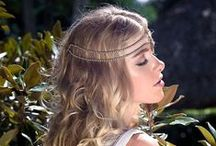 Boho Chic Hair Accesories / Make a statement on your wedding day with our unique headpieces available here:  http://island-bridal.myshopify.com/