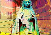 Santos, Crosses, Icons / by Carol G.