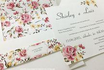 Convites de Casamento - Galeria de Convites / convites de casamento da empresa Galeria de Convites