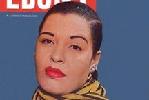 Lady's Style / Billie Holiday was known for her bold presence, her tall physical stature. She emphasized this by wearing clothes that transfixed audiences in understated, purposeful ways. She loved a beautiful gown and accessorizing it perfectly.