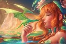 Magical creatures / Fairies, dragons, mermaids etc.