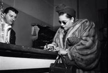 Candid Billie Holiday / It's wonderful to see a big star, hard at work, doing ordinary things and interacting with others. It's the personal moments that tell the whole story.