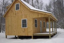Cabins / Cabin Plans / by Fred Stanley