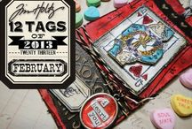 Tim Holtz Tags and tutorial