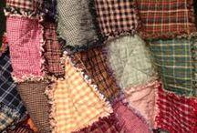 Rag Quilts~~Homespun