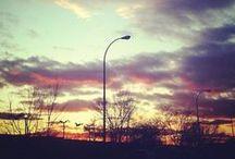 Nubes y cielos