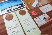 Identidade visual casamento - Galeria de Convites / Identidades visuais para casamento