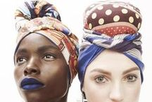Headwraps...for the DIVA / Wear your headwrap like the queen wears her crown. This is a fabulous way to accessorize and dress up any ensemble. Find dozens of ways to wear headwraps and tutorials. Some of our popular songstresses sported headwraps when they chose to make a statement about a link to Africa. Black women learned to reclaim a pride in their African heritage, and have embraced fabrics, styles and colors that enhance their beauty.