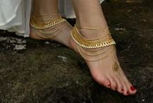 Foot Jewelry & Anklets / Show off that pedicure...You earned it...