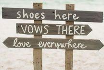 Casamento na praia / Inspirações para casamentos na praia