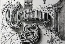 Typo/Graphisme old school
