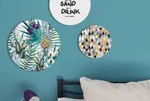 Wandobjekte in Wandteller-Optik / Eine Wanddekoration mit Designs in raffinierter Wandteller-Optik ist trendy und viele Lifestyle und Wohnmagazine stehen voll auf diese Trend-Deko.  Wanddekorationen von cuadros lifestyle sind essentiell für jedes Zuhause. Sie spiegeln unsere Persönlichkeit und sorgen für Emotionen.