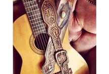 Guitar straps by Buffalo Girl