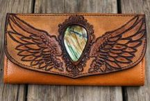 Wallets by Buffalo Girl / Leather wallets hand crafted in Byron Bay by Buffalo Girl