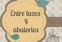 """""""Entre lazos y abalorios"""" .Handmade by me!!!!!! / """"Entre lazos y abalorios"""" es un proyecto que nace del corazon, del amor por lo sencillo y artesano. http://entrelazosyabalorios.blogspot.com.es/"""