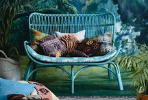 Boho~Hippie~Shabby Chic / Colorful/shabby chic/ rugs/curtains/ chairs/furniture/pillows/bedding/lighting/eclectic  / by Dallas Lyons