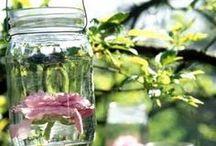 Recycling.... Tarros de cristal !!!
