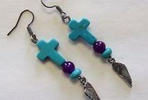 Hand Crafted Earings / by Star Bound Horses and Western Gifts