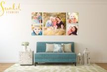 Photography Ideas for your Home / Our stunning Canvas Wall Collections and products bring warmth, personality and memories to your home. All museum grade quality, our products are designed to last 75 years, ensuring they will be loved for a lifetime.