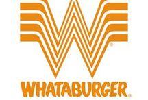 Brand Pinboard: Whataburger / If Whataburger had a brand pinboard.