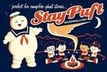 Brand Pinboard: Stay Puft Marshmallow Man / If the Marshmallow Man had a Pinterest.