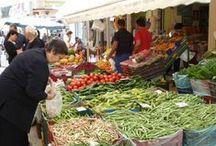 TVT Terug naar de markt - Back to the local food market / Niks leukers en sfeervoller dan de markt. In je eigen thuisstad, maar ook op reis. Stuur je  leukste/beste/origineelste/vreemdste marktfoto's naar 'de tafel van Tine'. http://www.detafelvantine.be