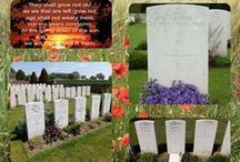 Remembrance (Especially World War 1)