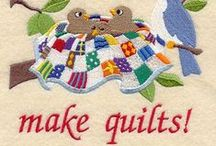Quilts / Inspiration, patterns. tips and tutorials for all sizes of quilt