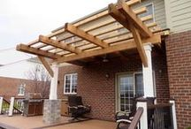 Pergolas / Looking to add the perfect touch to your outdoor living space? Sit back, relax, and enjoy the shade on a warm summer day.