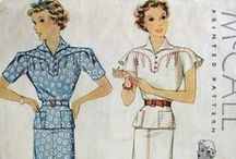 My 1930s Patterns / 1930s Sewing Patterns in my stash