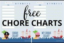Smarter Parenting: Chore Charts / Our selection of free Chore Charts