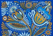 Inspiration in Blue / Predominantly blue images to inspire your designs