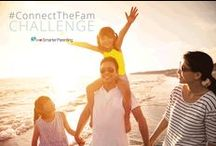 ConnectTheFam Challenge / A challenge to invest in your family instead of your devices. Fun daily activities to help a family connect.