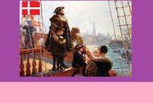 Danmark / Kong Christian stod ved højen mast...