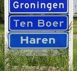 gem. Groningen ♥ / Grunnen / Stad (Grins) - de stad Groningen & Ten Boer & Haren (?)
