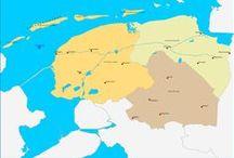 Fryslân - eilannen ⛵ / Ameland, Schiermonniksoog, Terschelling, Texel (West-Friesland), Vlieland + It Waad