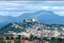Siorrachd Sruighlea / ✕ Stirlingshire • Falkirk, Carron, Grangemouth, Bannockburn, Milngavie, Mugdock, Rowardennan, Aberfoyle