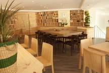 Our Restaurants / Take a look around the interiors of our restaurants by browsing through this board.