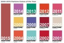Pantone Color Of the Years Past / Panton Colors of the year since 2013. || 2013: Emerald || 2014: Radiant Orchid || 2015: Marsala