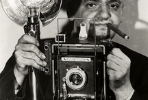 Weegee's (Arthur Fellig) Photography / Weegee was the pseudonym of Arthur Fellig (June 12, 1899 – December 26, 1968), a photographer and photojournalist, known for his stark black and white street photography. (Wikipedia)