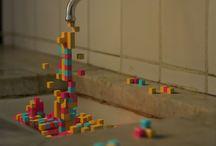 Pixel / 픽셀 : 점, 정사각, 스퀘어, 파편
