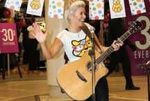 Andrea Magee at CastleCourt / Andrea Magee from the X-factor is at CastleCourt to raise money for Children in Need 2013!