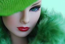 OOAK/Collectors Fashion Dolls Repaint Artistry / I am a Huge Barbie/Fashion Doll Fan !! I Collected Them Growing Up !! :) ... / by Imperatrice Lounge