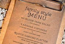 Menu Design / 메뉴 디자인이 식당의 품위를 결정한다
