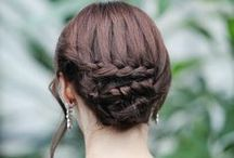 Cute hairstyles / Inspiration and ideas for hairstyles and hairdos. Quick hairdos.